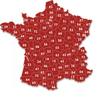 carte de france 02
